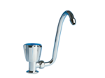 4022.30.26 Water tap EXCLUSIV left hand spout with chrome control caps GENOVA