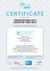 Certificate DIN EN ISO 9001 and 14000