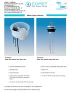 pin-based level sensors to detect fresh water tank fill level