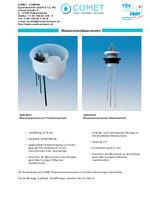Stabsensoren zur Wasserstandsanzeige