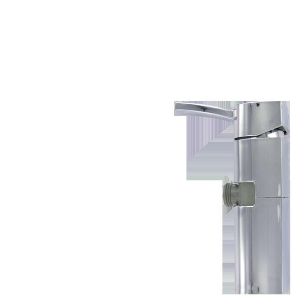 2654.20.21 CAPRI Einhebelmischer mit Duscheanschluss drehbar