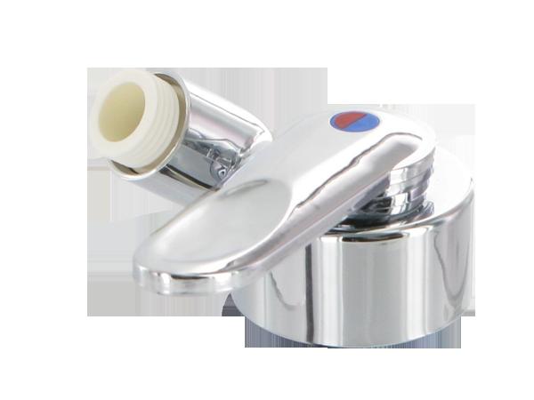 """2384.20.71 Einhebelmischer FLORENZ Design Finger mit Duscheanschluss 1/2"""""""