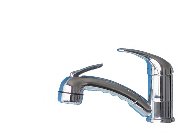 2726.20.21 single levermixer ROMA with trigger showerhead
