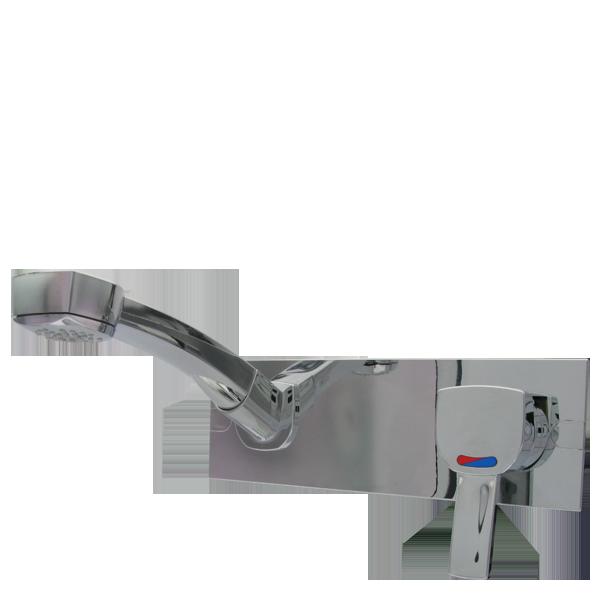 2074.20.21_L Through-wall-installation mixer CAPRI chrome