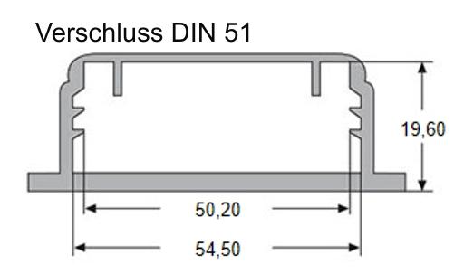 Screw cap DIN 51