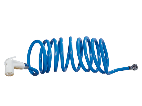 8951.01.00 Coiled hose 200 cm with shower head