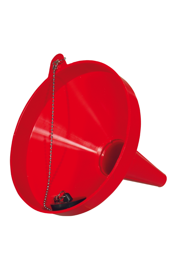 8930.13.00 Funnel with chain and stopper