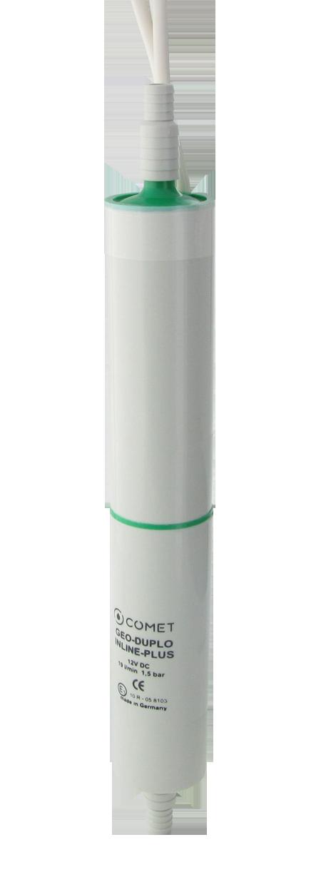 1850.77.21 Inline pump GEO-DUPLO-INLINE-PLUS with hosetail