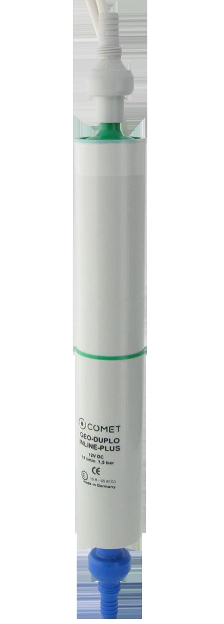 1860.77.00 Inlinepumpe GEO-DUPLO-INLINE-PLUS mit Rückschlagventil und Filter