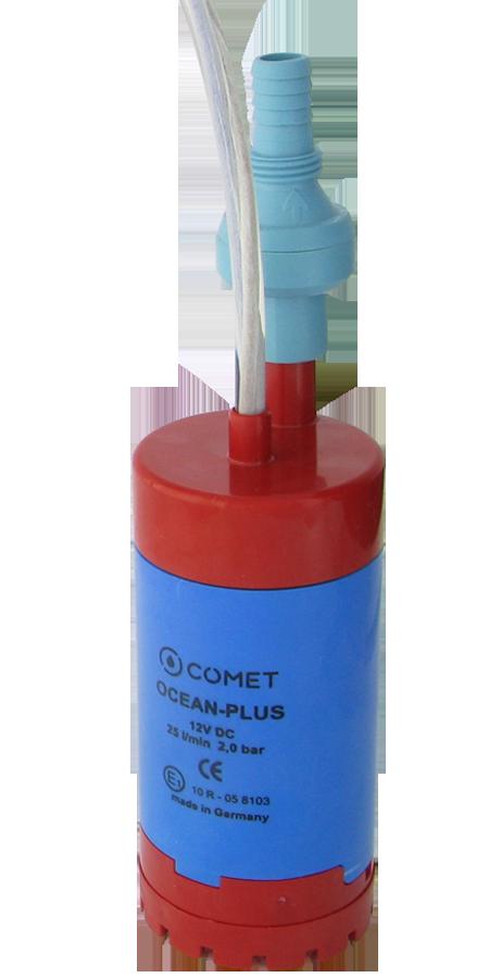 1150.91.00 Tauchpumpe OCEAN - PLUS mit entlüftetem Rückschlagventil und Filter