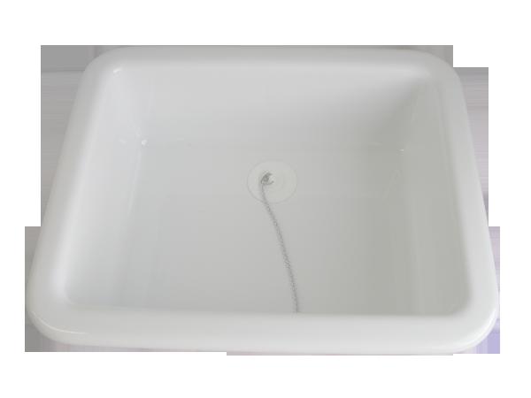 8715.06.02 Wash-bowl mini rectangular white