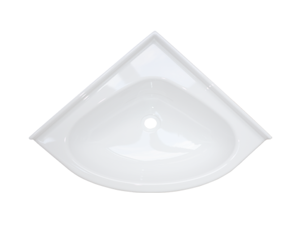 8716.06.00 Corner washbasin MINI white